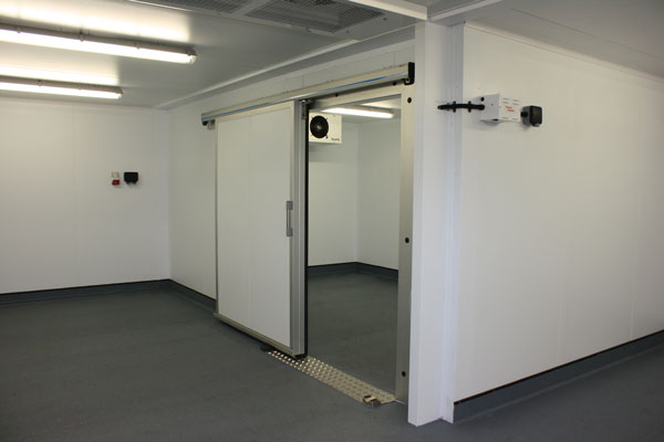 Freezer room for wholesale products