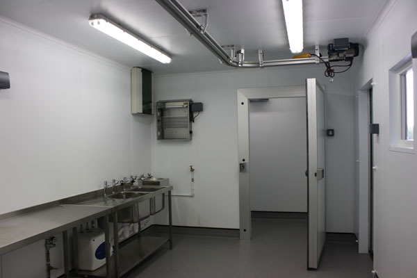 Clean, hygienic working environment